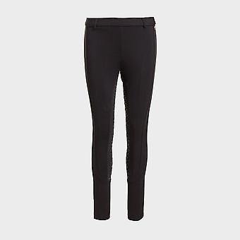 New Shires Women's Aubrion Albany Riding Tights Black