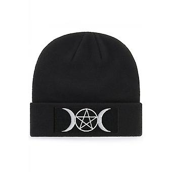 Extreme Largeness Pentagrams & Moons Beanie