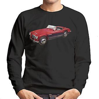 Austin Healey 3000 Mark II Red British Motor Heritage Men's Sweatshirt