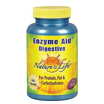 Nature's Life Enzyme Aid Digestive, 100 caps