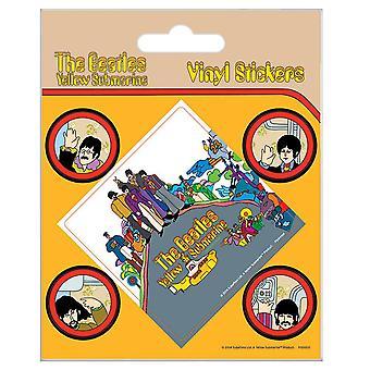 The Beatles Yellow Submarine Stickers Set