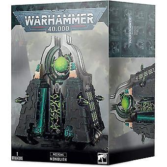 Spel Workshop - Warhammer 40.000 - Necrons: Necrons Monolit
