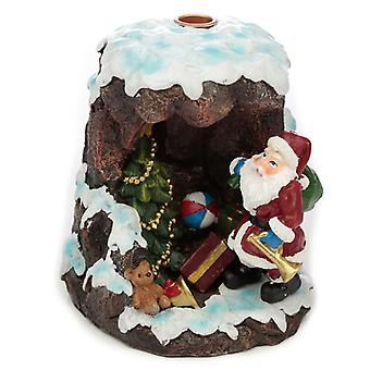 Puckator Christmas Santa's Grotto Incense Burner