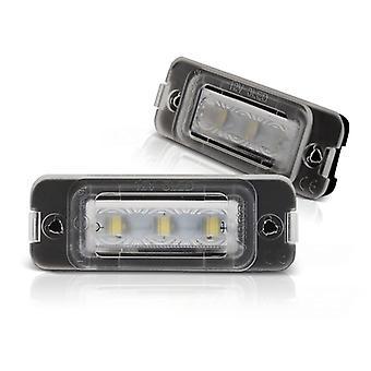 Illuminazione targa LED MERCEDES Classe M W164 05-11 / Classe R W251 05-10 LED