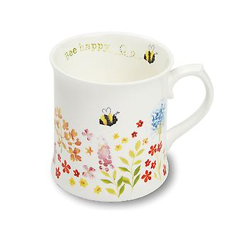 Cook Smart Tankard Mug Bee Happy 9638