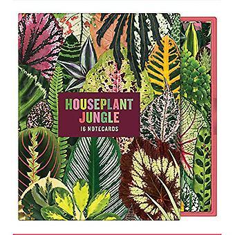Houseplant Jungle Greeting Assortment Notecards (Houseplant Jungle)