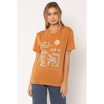 Amuse society temple tee shirt