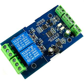 LC Technology RS485/TTL 2 Channel Relay Module (Modbus-compatible)