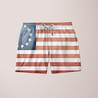 Patrotic flagg shorts