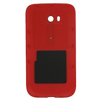 السلس سطح البلاستيك ظهر غطاء الإسكان لنوكيا Lumia 822(أحمر)