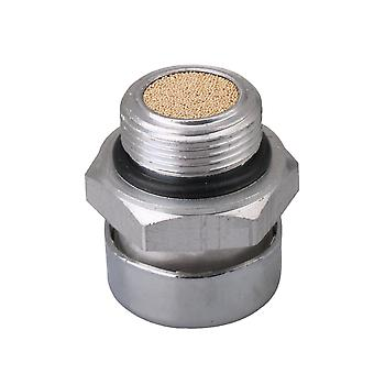 M24 Aluminum Alloy Silver 0.15CM Engine Filter Cap for Reducer Leakproof