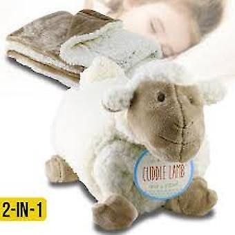 Cuddle plush lamb & blanket set