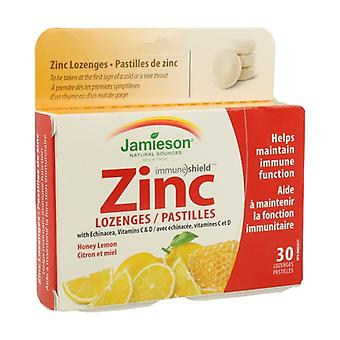 Zinc with Echinacea and Vitamin C and D 30 tablets