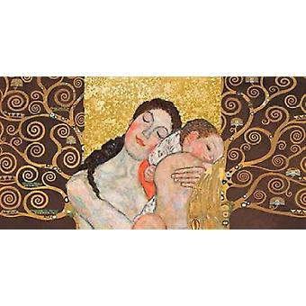 Motherhood II Poster Print by Klimt Patterns