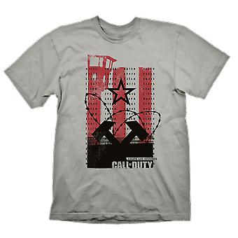Call of Duty Call Of Duty Cold War Wall T-Shirt Large