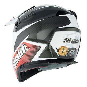 Stealth HD210 GP Replica Adult MX Helmet - Red