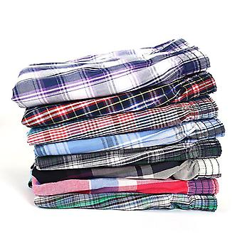 Mens Underwear Boxers Cotton Sleep Underpants