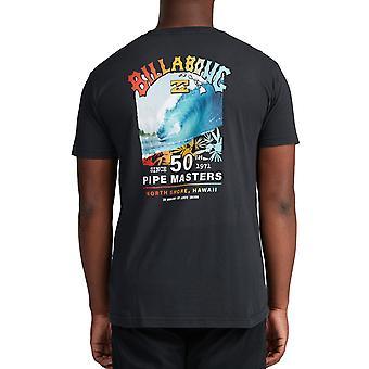 Billabong Pipe Master Short Sleeve T-Shirt in Black
