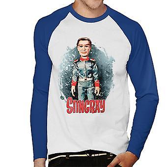 Stingray George Phones Sheridan Without Hat Men's Baseball Long Sleeved T-Shirt
