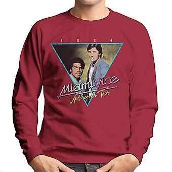 Miami Vice Tour Men's Sweatshirt