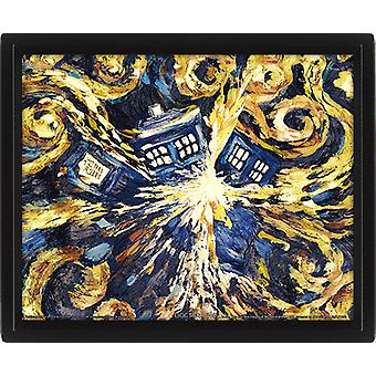 Doctor Who Framed 3D Picture