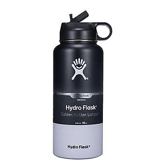 Tumbler Vacuum Insulated Flask, Stainless Steel Water Bottle, Wide Mouth