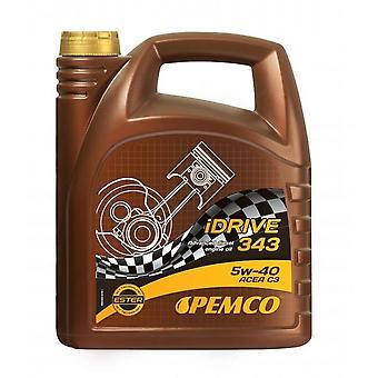 Pemco iDrive HC Synthesis Engine Oil 5W-40 5L API SN GM Dexos 2 BMW LL-04