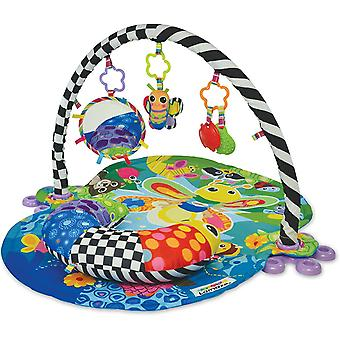 LAMAZE Freddie The Firefly Baby Activity Play Mat | 3-in-1 Baby Gym With 3 Sensory Toys For Babies