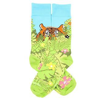 Piilotettu tiikeri viidakon sukissa