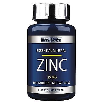Scitec Nutrition Zink 25mg 100 Tabletten
