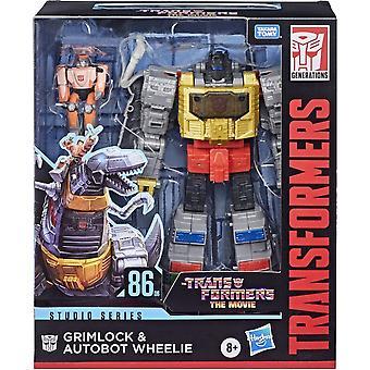Transformers Grimlock & Autobot Wheelie Deluxe Studio Series Leader 86 Figure Set