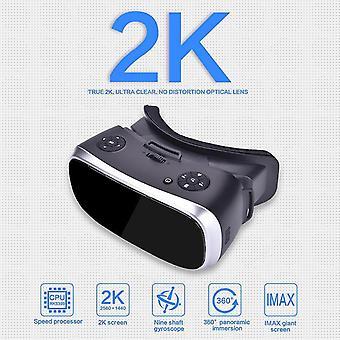 Lunettes 3D lunettes de réalité virtuelle pour ps 4 xbox 360 xbox one 2560*1440 p écran hdmi compatible android 5.1 tout en un vr