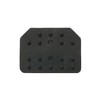 Car Pedal Rubbers Sparco Reflex Black (3 pcs)