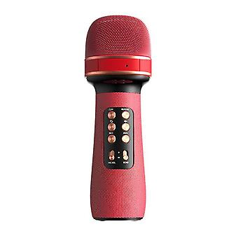 Bluetooth Handheld Microphone System(Red)