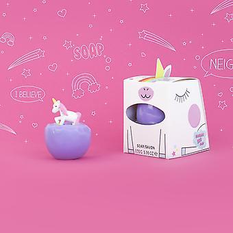 Unicorn egg soap