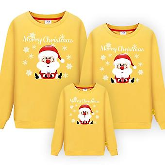 Perhe Matching Christmas T-paita, Isä-äiti Baby Pajamas