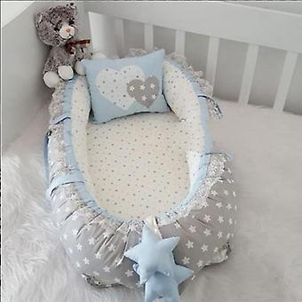 Ster patroon orthopedische baby bed / babynest