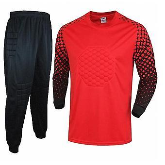 Boys Football Training Uniforms , Goal Keeper Clothing