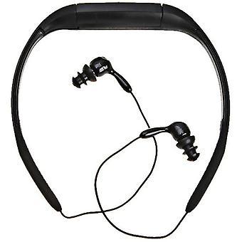 Αδιάβροχος φορέας ραδιοφωνικής μουσικής MP3 φορέων (μαύρος)