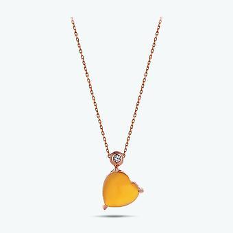 Harmony Heart Diamond halskæde