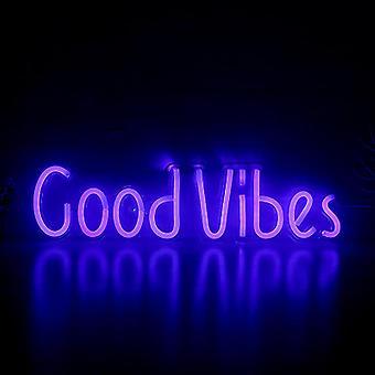 Open Goodvibes Neon Sign Led Light