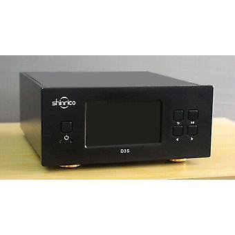 Поворотный стол Hifi Цифровая музыка Аудио плеер Поддержка Flac Ape Wav Alac Ogg Dsd64