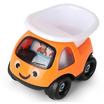 2Kpls 8.5 * 7 * 9cm oranssi lasten lelu auto inertia auto malli suunnittelu auto poika tyttö koulutus lelu lahja az18193