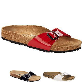 Birkenstock kvinner Madrid Birko-Flor mangler slip-on sandaler