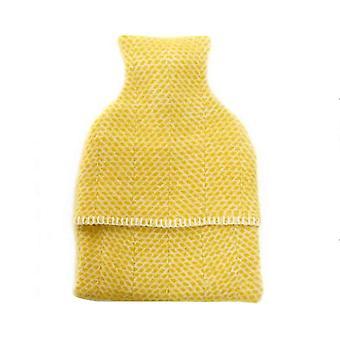 Ylellinen mehiläispesä kuvio villa kuumavesi pullo kansi & PVC-pullo