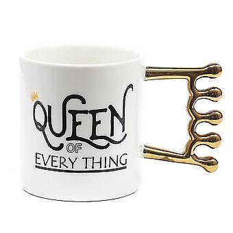 Crown Mug Ceramic Cup Breakfast Tea Cup Coffee Cup Crown Water Cup