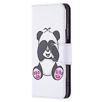 Xiaomi Redmi Note 10 4g Case Pattern Magnetic Protective Cover Panda