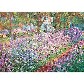 Eurographics Monet's Garden, Claude Monet Jigsaw Puzzle (1000 Pièces)