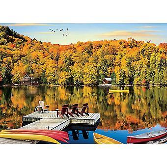 Eurographics Lakeside Cottage, Puzzle Québec (1000 pièces)
