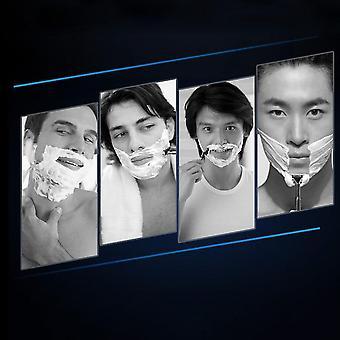 Universal Miesten partaveitsi parranajo 3-kerroksinen Haad Gillette Mach 3 Partaveitsille